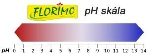 FLORIMO Virágföld pH érték skála