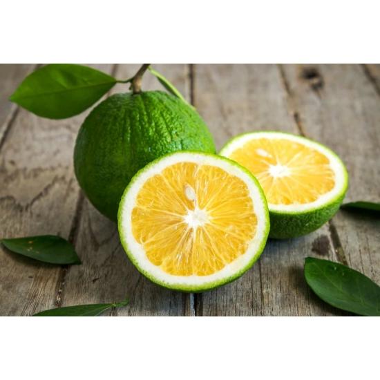 Bergamott narancs termés