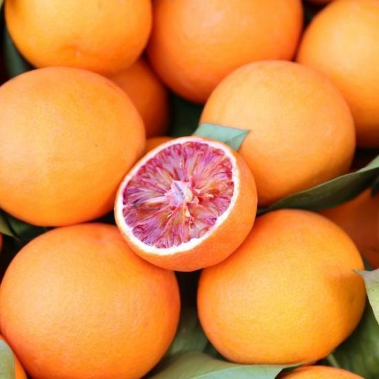 Tarocco narancs termés