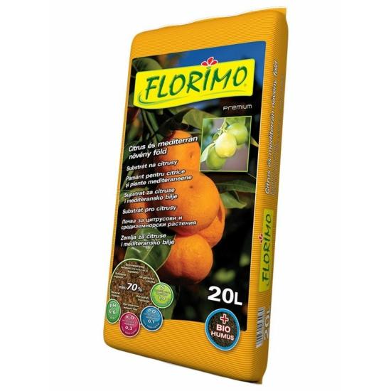 FLORIMO® Citrusföld és mediterrán föld 20 literes
